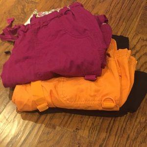 Koi 3 pair size med scrubs